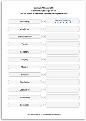 Download => Rechtschreibung => Silbentrennung (12)