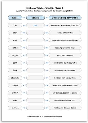 Download => Vokabel-Rätsel mit Umschreibung (3)