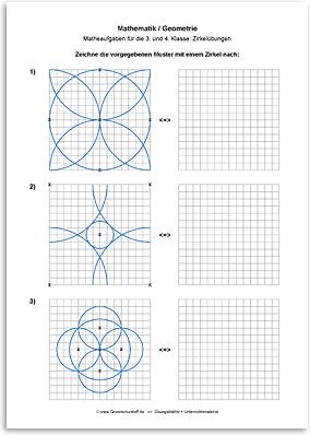 Download => Geometrie => Zirkelübungen (1)