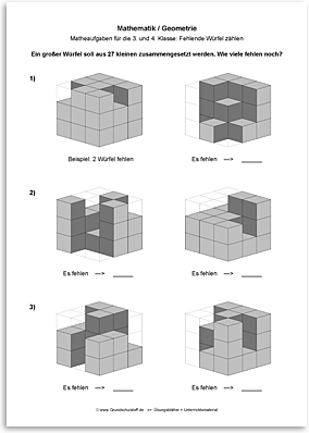 Download => Geometrie => Fehlende Würfel zählen (4)