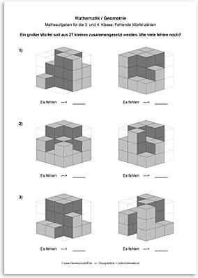 Download => Geometrie => Fehlende Würfel zählen (5)