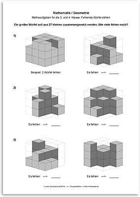 Download => Geometrie => Fehlende Würfel zählen (7)