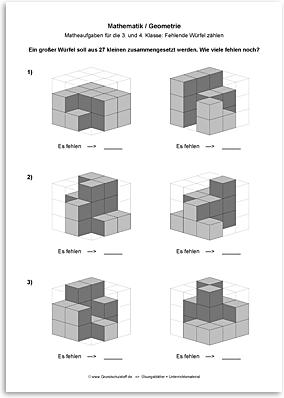 Download => Geometrie => Fehlende Würfel zählen (8)