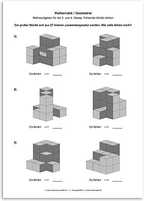Download => Geometrie => Fehlende Würfel zählen (9)