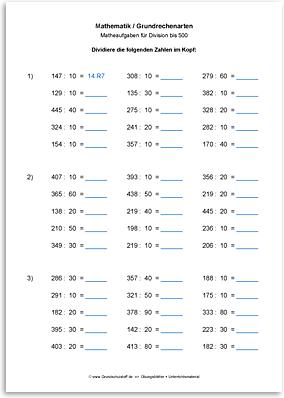 Download => Grundrechenarten => Division bis 1000 (8)