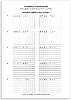 Unterrichtsmaterial mathematik