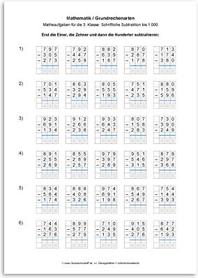 Matheaufgaben klasse 4 kostenlos