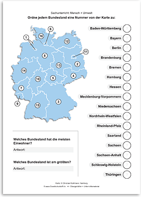 Download => Bundesländer in Deutschland (1)