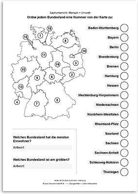 Download => Bundesländer in Deutschland (3)
