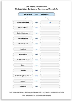 Download => Hauptstädte der Bundesländer in Deutschland (2)