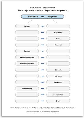 Download => Hauptstädte der Bundesländer in Deutschland (4)